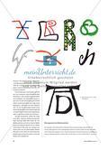 Mein Monogramm - Logogestaltung mit einzelnen Buchstaben Preview 2