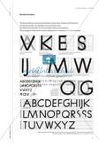 Schrift schreiben - Kalligraphie im Kunstunterricht Preview 4