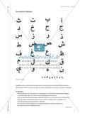 Schrift schreiben - Kalligraphie im Kunstunterricht Preview 6