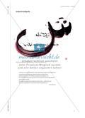 Schrift schreiben - Kalligraphie im Kunstunterricht Preview 7