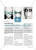 Nasenfahrrad - Gestaltung einer individuellen Brille aus Acrylglas Preview 1