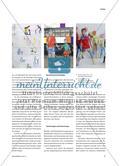 Baumstamm, Acrylglas und Stahlwolle - Rauminstallation als Projekt in der Mittelstufe Preview 2
