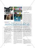 Baumstamm, Acrylglas und Stahlwolle - Rauminstallation als Projekt in der Mittelstufe Preview 3