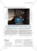 """Historische Werkprozesse verstehen - Rembrandts Bildprozess zur Geschichte des """"reuigen Judas"""" Preview 3"""