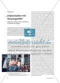 """""""Improvisation mit Deutungshilfe"""" - Kalkulierte und inszenierte Vermittlung am Beispiel documenta Preview 1"""