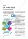 Was ist Design Thinking? - Vom Designvorgang zum kreativen Problemlösungsprozess für Wirtschaft und Ausbildung Preview 1