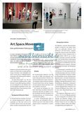 Kunst_neu, Sekundarstufe I, Sekundarstufe II, Aktionsbetontes Gestalten, Art, Performance, Museum, Workshop, Girl2Girl, Bewegung, Perspektive
