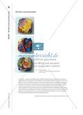 Material-Teil: Formgebung und Wirkung von Farbe in der bildenden Kunst Preview 12