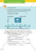 Nomen, Pronomen und Begleiter Preview 7
