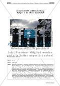 Religion-Ethik_neu, Sekundarstufe II, Grundlagen und Begriffsbestimmungen, Begriffe, Religion, Religionsbegriff, Freiheit, Offenheit, Vielfalt, Weltreligion, Toleranz, Akzeptanz, Gesellschaft