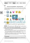 Kommunikative Funktion von Emojis - Stellung beziehen Preview 1