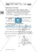 Erläuterungen und Lösungen: Lerntheke zur Vektorrechnung Preview 1