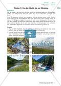 Fließgewässer: Stationenarbeit mit Lösungen Preview 6