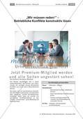 Deutsch_neu, Sekundarstufe I, Sekundarstufe II, Sprechen und Zuhören, Gesprächskompetenz, Konfliktgespräche, Konflikte verbal lösen, Streitgespräche