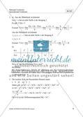 Ableitungen von Polynomen, ihren Produkten und Quotienten Preview 11