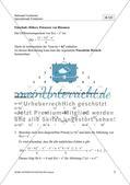 Ableitungen von Polynomen, ihren Produkten und Quotienten Preview 5