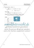 Bestimmung von Funktionsgleichungen Preview 10