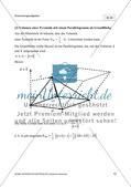 Das Vektorprodukt: Volumenberechnungen Preview 3
