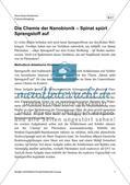 Die Chemie der Nanobionik Spinat spürt Sprengstoff auf - Mit Lösungsfolie Preview 5