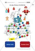 Landeskunde: Celebrating Christmas - Christmas games Preview 1
