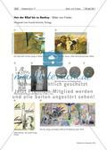 Kunst_neu, Sekundarstufe I, Sekundarstufe II, Flächiges Gestalten, Körperhaft-räumliches Gestalten, Kunstbegegnung und -betrachtung, Collagieren, Darstellung der sichtbaren Wirklichkeit, Collage und Montage, Zeichnen, Collagieren mit ausgeschnittenen Bildteilen, Porträt, Collage, Illustration, Comic, Mimik, Gestik, Friedenstaube, Flyer, Logo, Friedensmünze, Modelliermasse, Wortwolke, Friedensbewegung