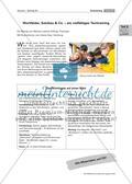 Wortfelder, Satzbau & Co. - ein vielfältiges Texttraining Preview 1