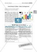 Unsere Klasse in Zahlen: Daten und Diagramme Preview 1