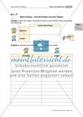 Unsere Klasse in Zahlen: Daten und Diagramme Preview 7