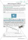 Der Einfluss der Temperatur auf Pflanzen Preview 1