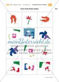 Malen mit der Schere: Fantasievolle Formen nach Matisse Preview 17