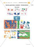 Malen mit der Schere: Fantasievolle Formen nach Matisse Preview 21