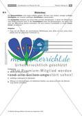 Pflanzen: Wurzel, Blüten aus Blättern, Pflanzenquiz Preview 8
