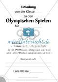 Einladung zu den Olympischen Spielen Preview 1