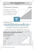 Fläche – Rechtwinkliges Dreiecke Preview 2