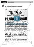 LS 01 Die Gründung der Weimarer Republik Preview 2