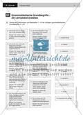 Grammatikalische Grundbegriffe – ein Lernplakat erstellen Preview 2