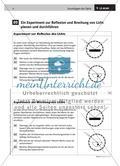LS 09 Ein Experiment zur Reflexion und Brechung planen und durchführen Preview 2