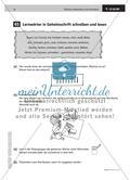 Lernwörter in Geheimschrift schreiben und lesen Preview 2