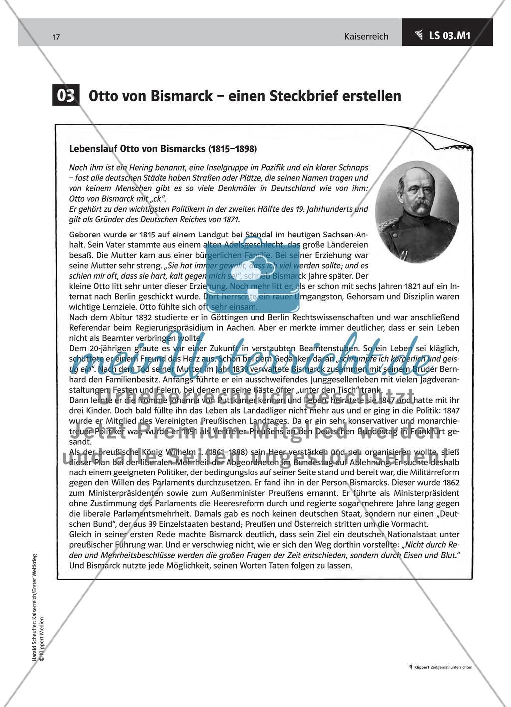 Lemo Biografie Biografie Otto Von Bismarck 9