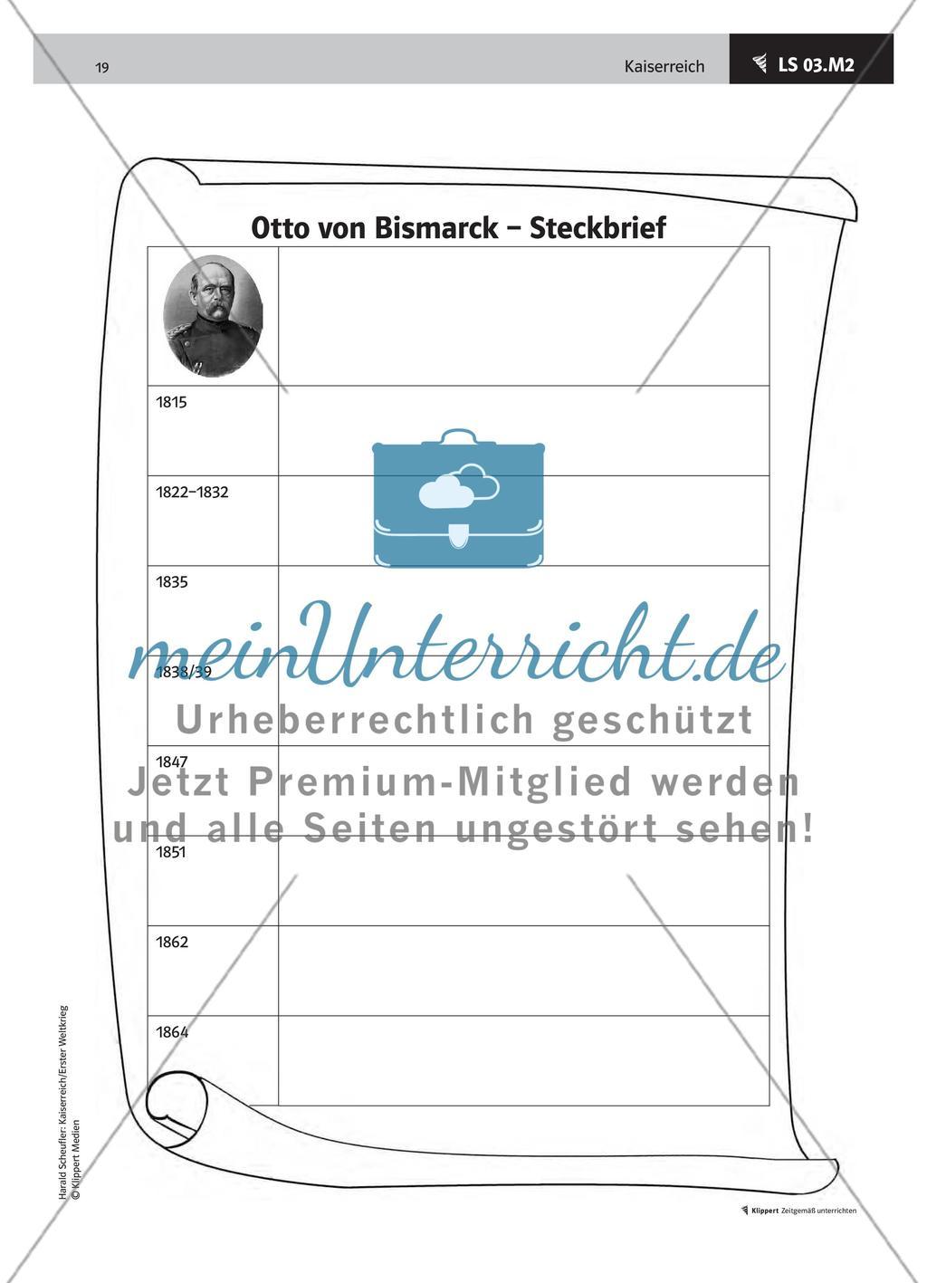 Lemo Biografie Biografie Otto Von Bismarck 5