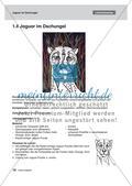 Kunst_neu, Sekundarstufe I, Flächiges Gestalten, Malen, Tier, Farbe, Kontrast, Kreide, Wachs, Puzzle