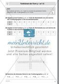 Quadratische Funktionen – Teil 1 Preview 5