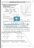 Quadratische Funktionen – Teil 2 Preview 6