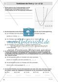 Quadratische Funktionen – Teil 2 Preview 8