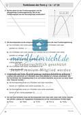 Quadratische Funktionen – Teil 3 Preview 4