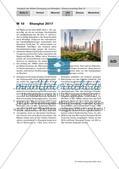 Klausurvorschlag: Vergleich der Städte Chongqing und Shanghai Preview 13