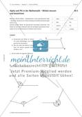 Kreise und Winkel: Winkel messen, bezeichnen und unterscheiden Preview 2