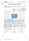 Lernzirkel: Adjektive und deren Steigerung Preview 10