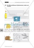 Lerntheke: Kohlenhydrate, Lipide und Proteine Preview 4