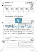 Schriftliche Addition und Subtraktion bis 1 000 000 – Teil 2 Preview 1